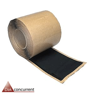 Polyback flashing 30 cm, Polyback flashing 15 cm, Secur tape 7,5 cm breed, epdm nadentape,nadentape,overlaptape epdm,epdm flashing, detailfolie epdm,epdm details